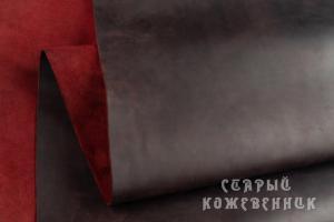 Шкура Крейзи хорс (темное-бордо)
